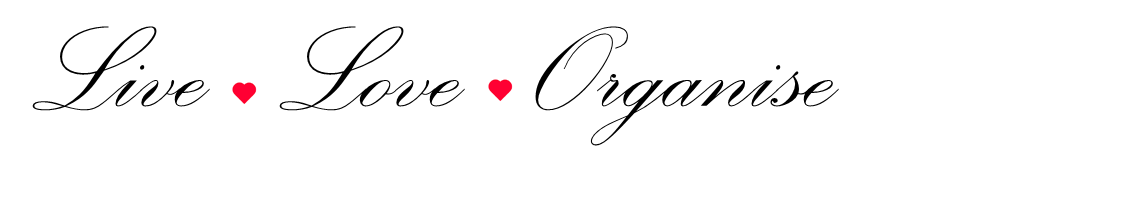 Live Love Organise