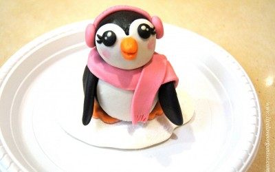 Penguin Cake Topper