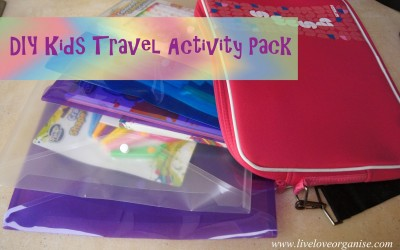 DIY Kids Travel Activity Pack