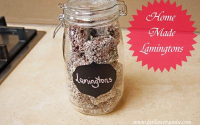 Home Made Lamingtons