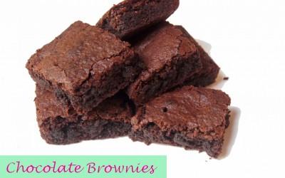 Gluten Free/Dairy Free Chocolate Brownies