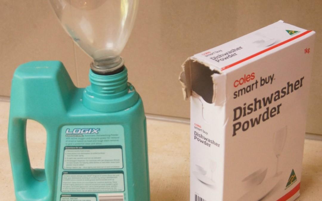 Save money on Dishwashing Powder