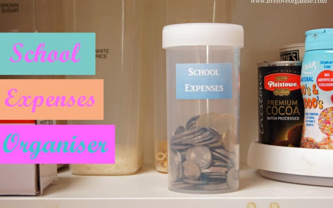School Expenses Organiser