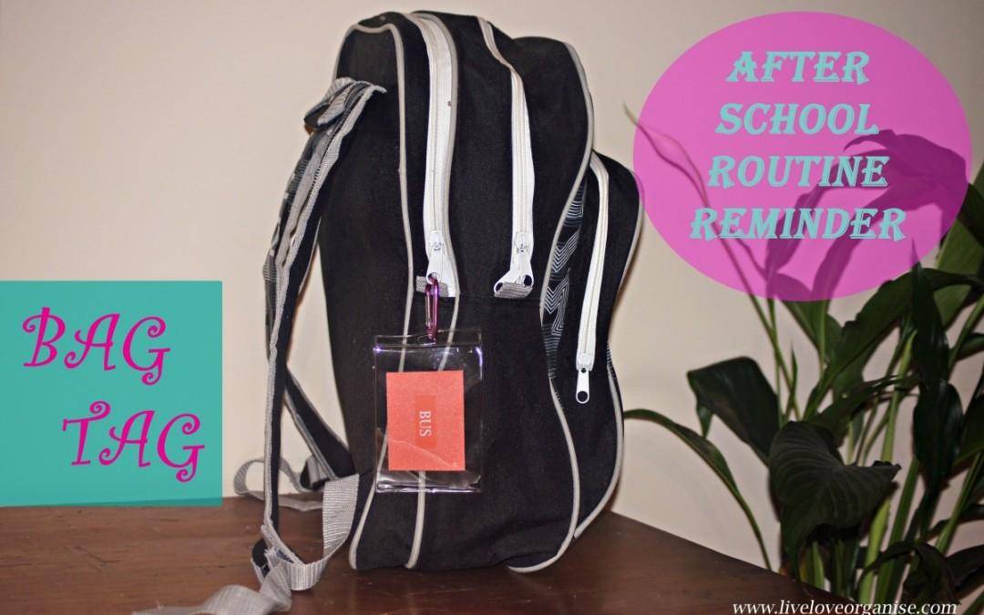 Routine Bag Tag