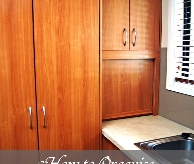 Hard to reach cupboard organisation