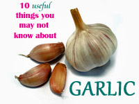 10 useful things you may not know about Garlic