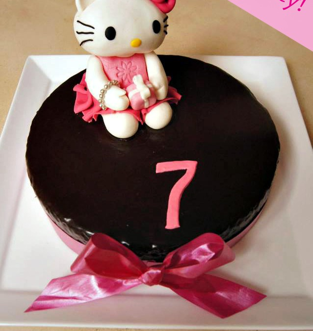 Hello Kitty! Cake topper