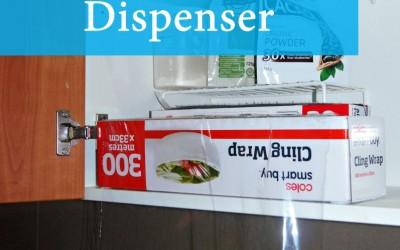 Easy Cling Wrap Dispenser