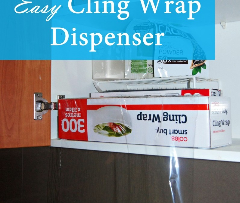 Easy Cling Wrap Dispenser